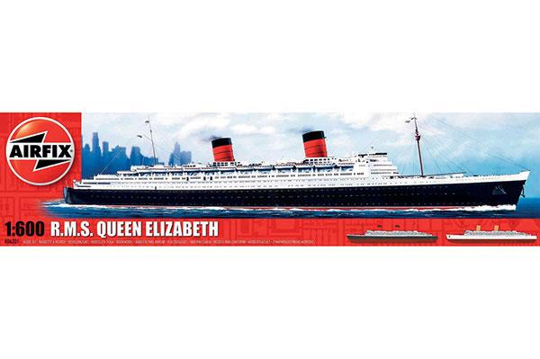 Modellbåt - R.M.S Queen Elizabeth - Airfix - 1:600