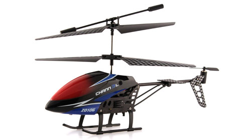 Radiostyrd helikopter - Z010G 2,4Ghz Gyro Edition - 3,5ch - RTF