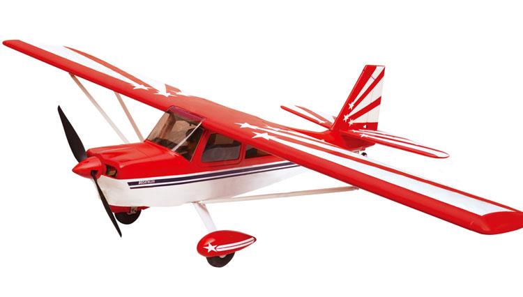 Flygplan - Super Decathlon BL - 1,4m - 2,4Ghz - Sim. - 6ch - RTF