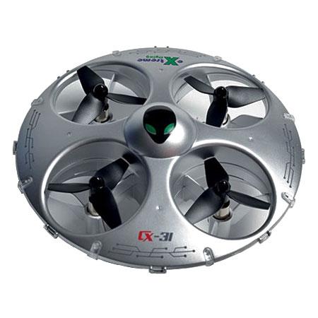 Radiostyrd drone - UFO 3D Stunt - 2,4Ghz - GRÅ - Cheerson - RTF