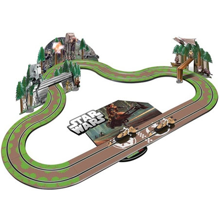 Scalextric bilbana - START Star Wars - Battle of Endor - 1:32 - Inkl. Bilar