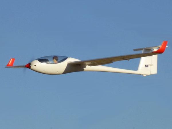 Flygplan - ASW28 2,6m BL + Sim - 2,4Ghz - 6ch - RTF