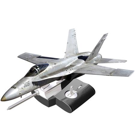 Silverlit X-twin F18 Hornet Jet, 2-kanals, Li-Po, steglös