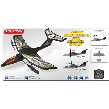Silverlit V-Full Tilt Jet 2-kanals, Li-Po, roterbara propellrar