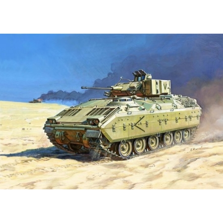 stridsfordon - M 2 Bradley USInfantry Fighting Vehicle - 1:100