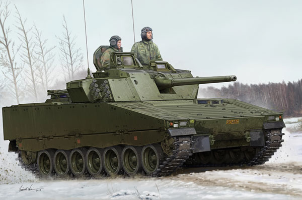 Byggmodell Stridsvagn - Swedish CV9030 IFV - 1:35 - HB