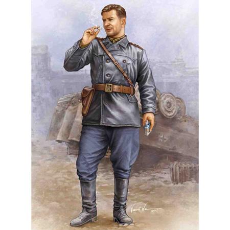 Byggmodell Soldat - Soviet tank crew vol.2 - 1:16 - Trumpeter