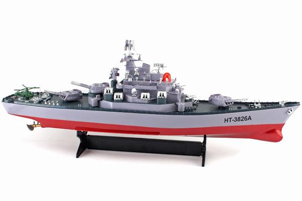 Radiostyrda båtar - USS Missouri - 1:250 - RTR