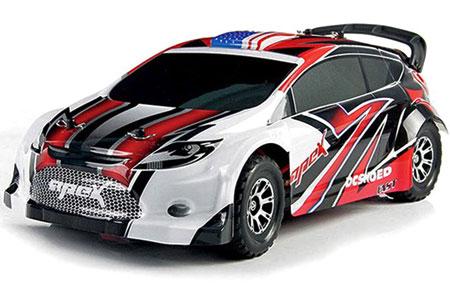 Radiostyrd bil - Vortex 4WD Touring car - 2,4Ghz - 1:18 - RTR