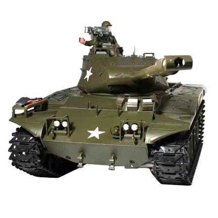 Radiostyrd stridsvagn - 1:16 - Walker Bulldog V6 - 2,4Ghz - s.airg. rök & ljud - RTR