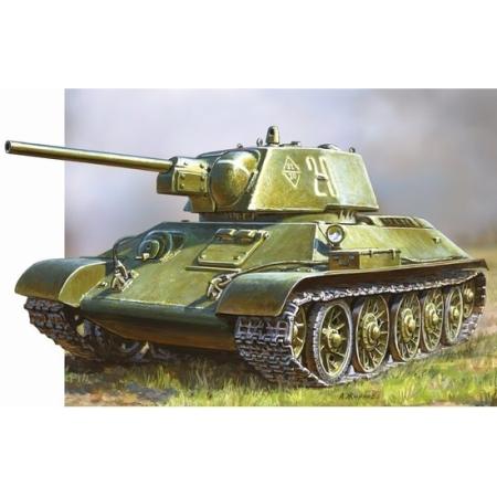 Byggsats Stridsvagn - T-34/76 1 - SNAP - 1:72 - Zvezda