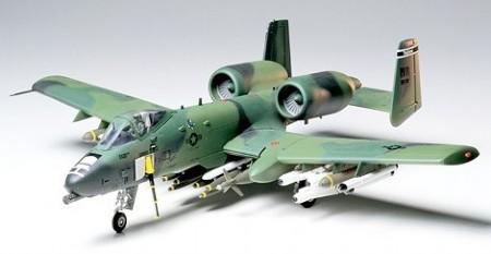 Byggmodell flygplan - A10A Thunderbolt II, Desert strike - 1:48 - Tamiya