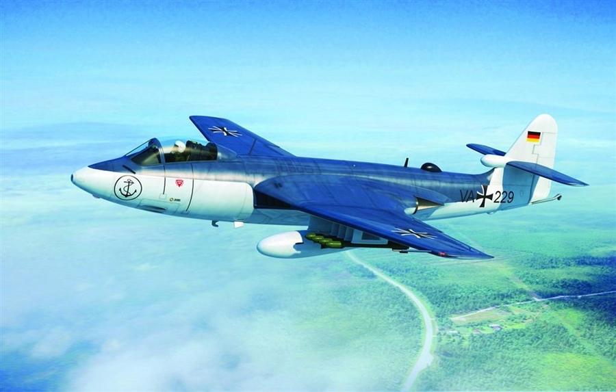 Byggmodell flygplan - Seahawk MK.100/101 - 1:48