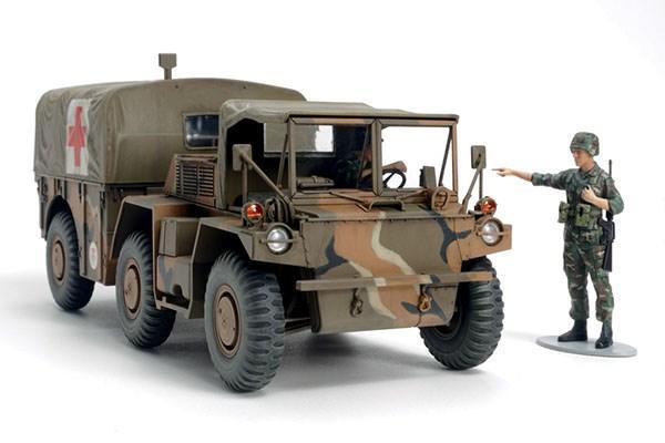Byggmodell stridsfordon - M792 Ambulance Gama Goat - 1:35