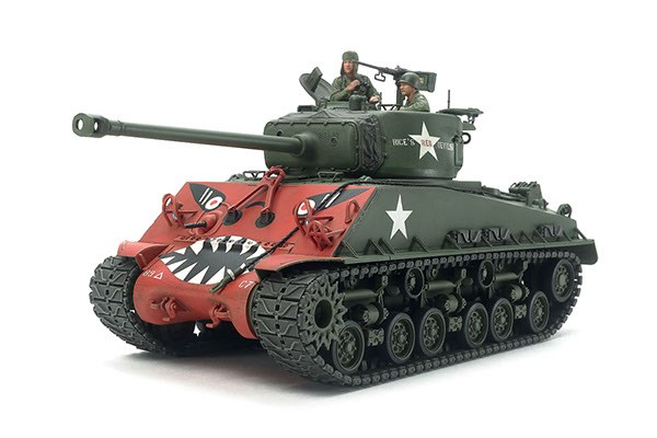 "Byggmodell stridsvagn - U.S. Medium Tank M4A3E8 Sherman ""Easy Eight"" - 1:35"
