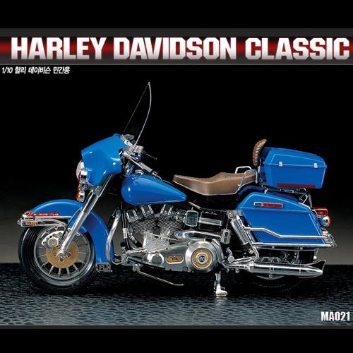 Byggmodell MC - Harley Davidsson Classic - 1:10