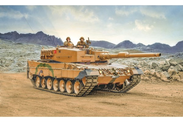 Byggmodell stridsvagn - Leopard 2A4 - 1:35 - Italeri