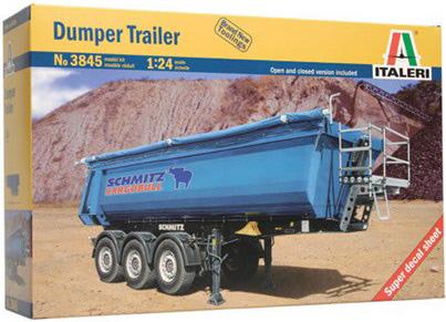 Byggmodell lastbils släp - DUMPER TRAILER - 1:24 - IT