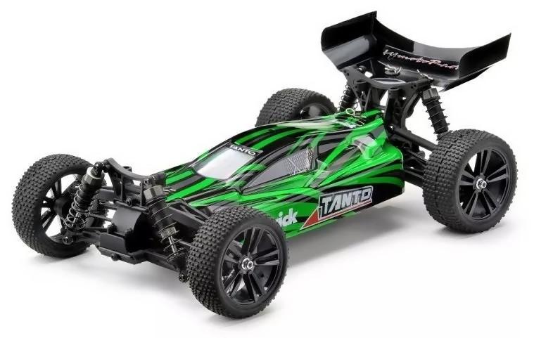 Radiostyrda bilar - 1:10 - Tanto Buggy 4wd - Grön - 2,4Ghz - RTR