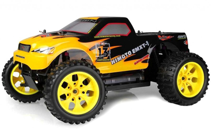Radiostyrda bilar - 1:10 - EMXT-1 Fire - 4WD - 2,4Ghz - RTR