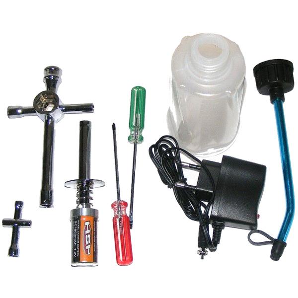Glödtändare paket - HSP Startkit - inkl. laddare och verktyg