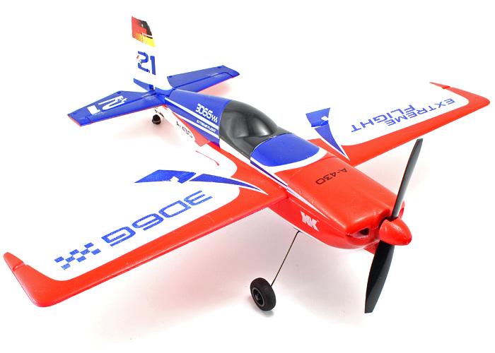 Radiostyrt flygplan - Edge A430 BL 2,4Ghz - 5ch - Borstlöst paket - SRTF