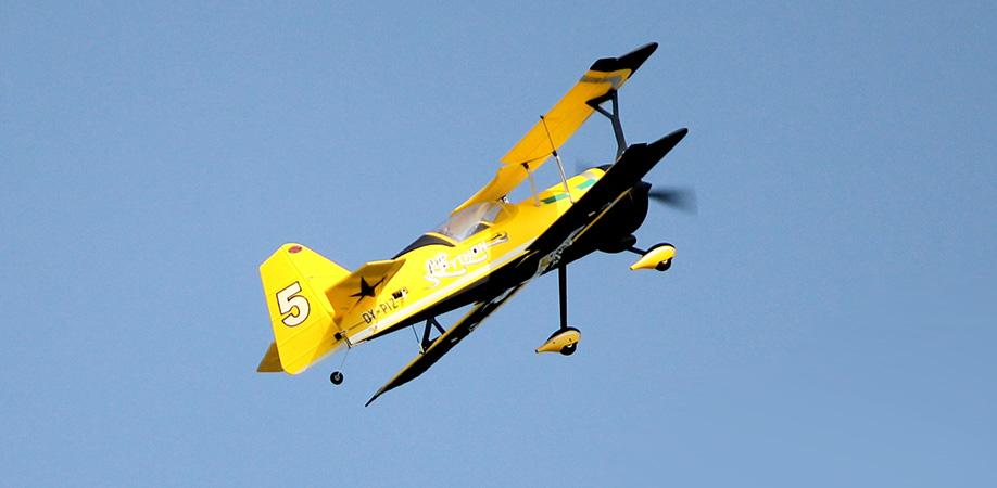 Flygplan - Pitts model 12 BL - 2,4Ghz - 4ch - SRTF