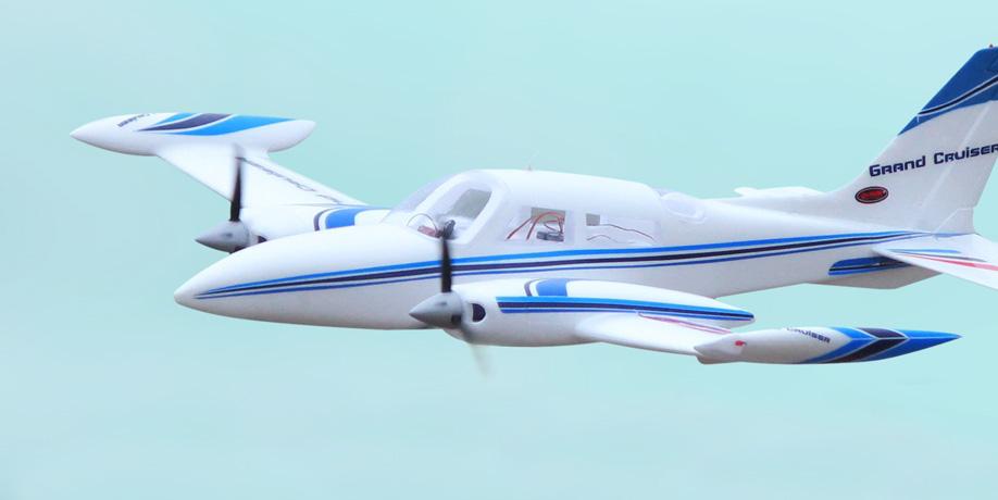 Flygplan - Cessna 310 Grand Cruiser BL 1,3m - 2,4Ghz - 4ch - SRTF