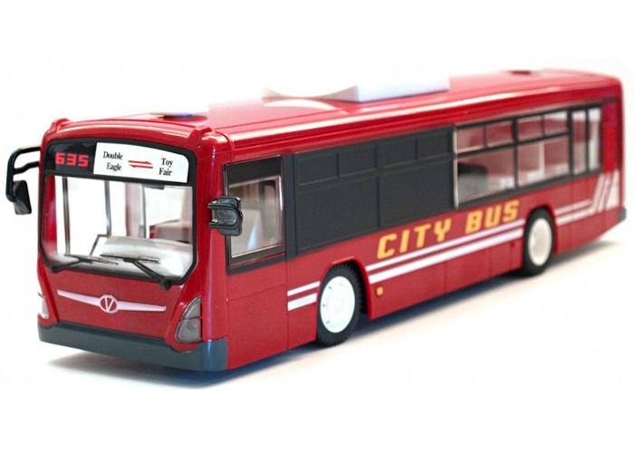 Radiostyrd buss - Röd - 2,4Ghz - RTR