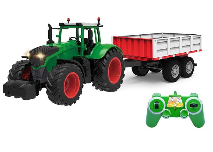 Radiostyrd traktor - 1:16 - 2,4Ghz RTR