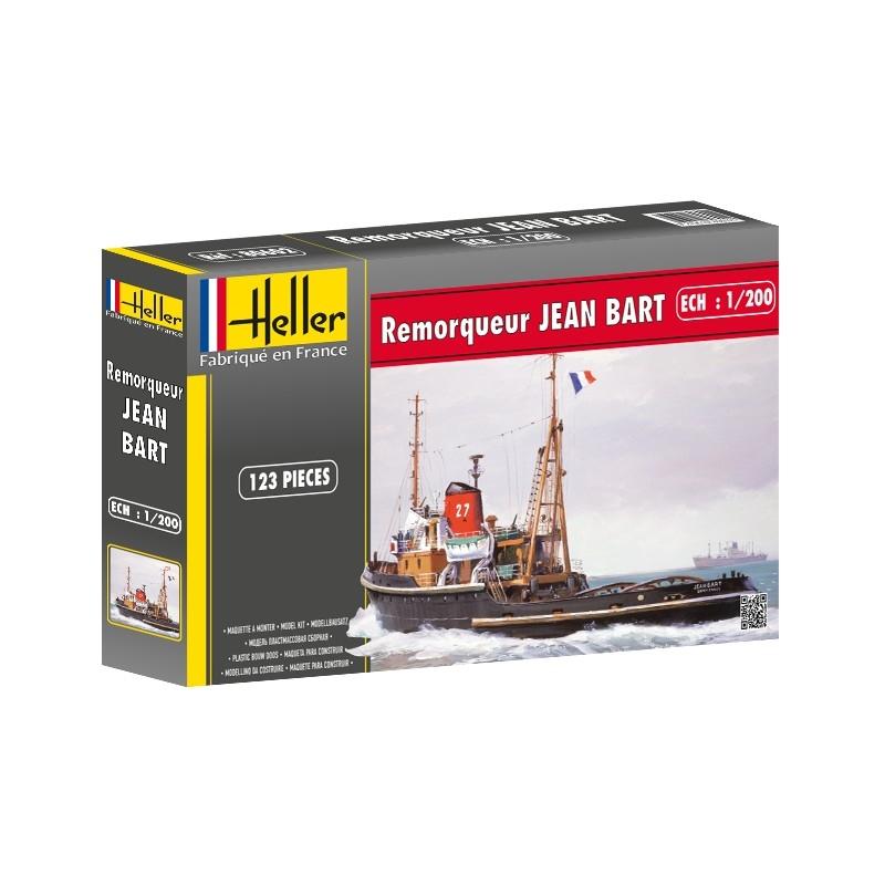 Byggmodell båt - Remorqueur JEAN BART Tugboat - 1:200 - HE