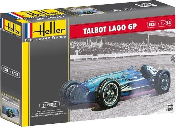 Byggmodell bil - Talbot Lagot GP - 1:24 - HE