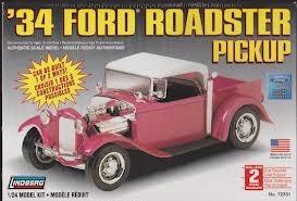 Byggmodell bil - Ford Roadster 1934 - 1:25 - Lindberg