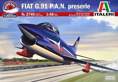Byggmodel flygplan - FIAT G91 P.A.N. - 1:48 - IT