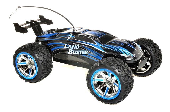 Radiostyrd bil - 1:12 - Land Buster - Blue - RTR