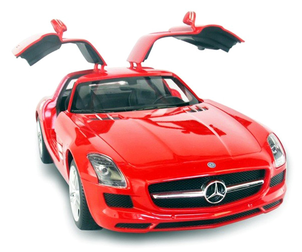 Radiostyrd bil - 1:14 - Mercedes-Benz SLS - RTR