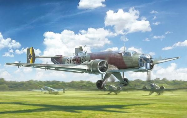 Byggmodell flygplan - Junker JU-86 E-1/E-2 - 1:72 - IT