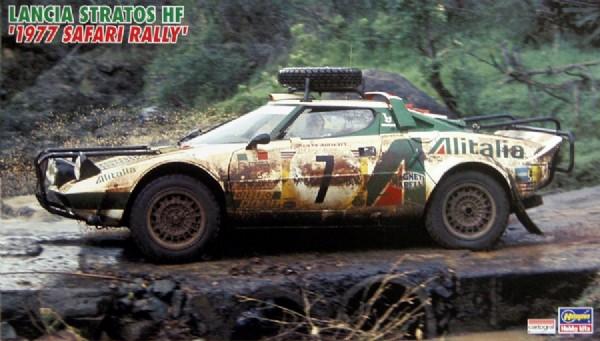 Byggmodell bilar - Lancia Stratos HF 1977 - 1:24 - HG