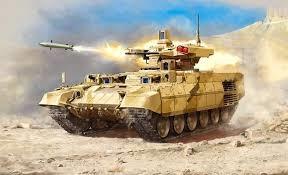 Byggmodell Stridsfordon - BMPT-72 Terminator 2 - 1:35 - Zv