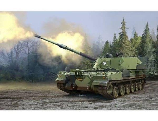Byggmodell stridsvagn - Finnish Army K9FIN Moukari Decal FI  - 1:35 - Ac
