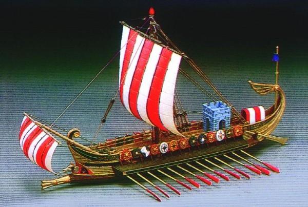 Byggmodell krigsfartyg - Roman War Ship - 1:72 - Ac