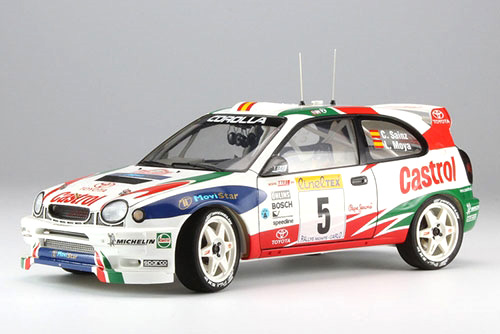Bygmodell bil - Toyota Corolla WRC 1998 Monte Carlo Limited - 1:24 - HG