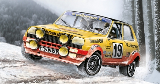 Byggmodell bil - Renault R5 Rally - 1:24 - IT