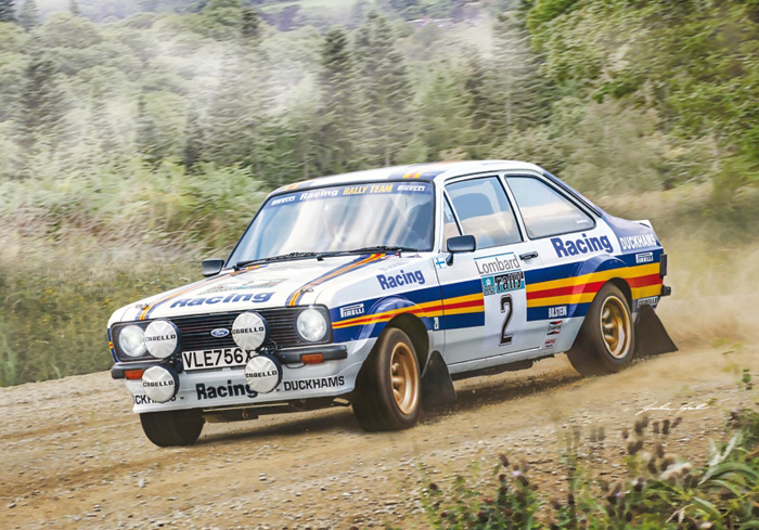 Byggmodell bil - Ford Escort RS1800 Mk.II Lombard RAC Rally - 1:24 - IT