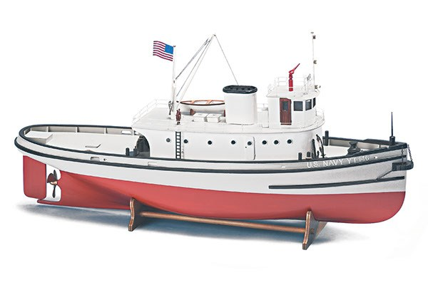 Byggmodell träbåt - Hoga Pearl Harbor Bogserbåt - 1:50 - BB