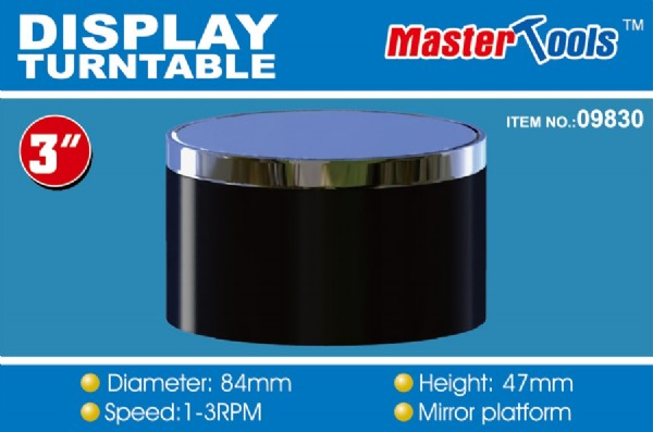Byggmodell - Turntable Display 84mm - MT