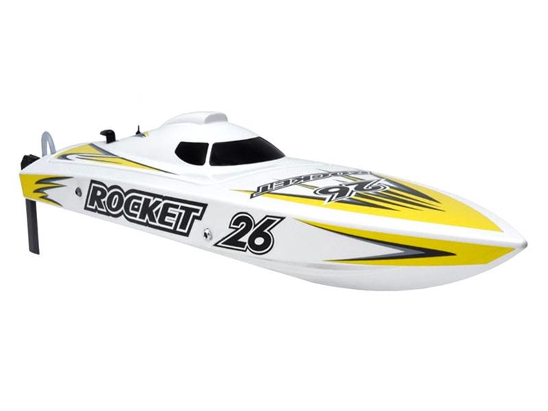 Radiostyrd båt - Rocket 26 Borstlös - 2,4Ghz - ARTR