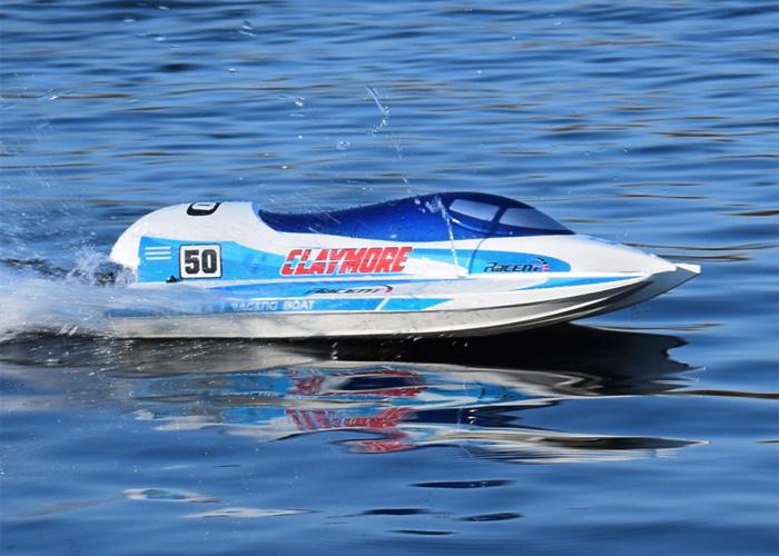 Borstlösa RC båtar - Claymore 50 BL - Borstlöst paket - 2,4Ghz - RTR