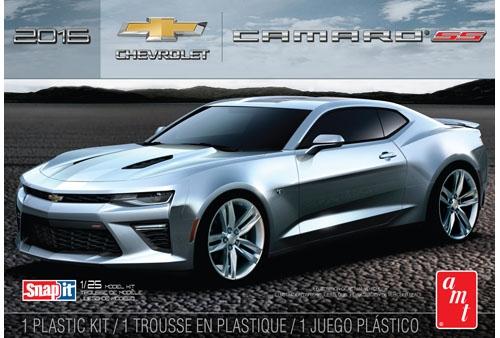 Byggmodell bil - 2015 Chevrolet Camaro SS - 1:25