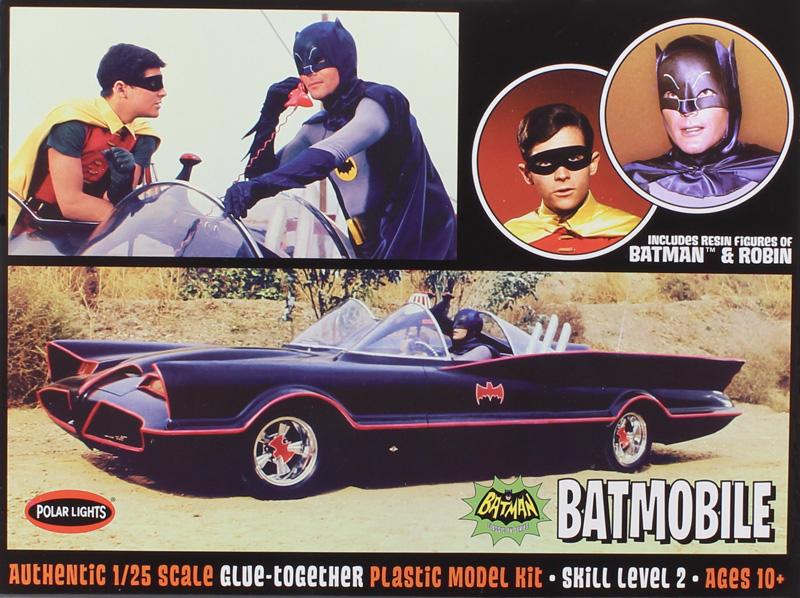 Byggmodell bil - Batmobile Batman och Robin - 1:25 - PL